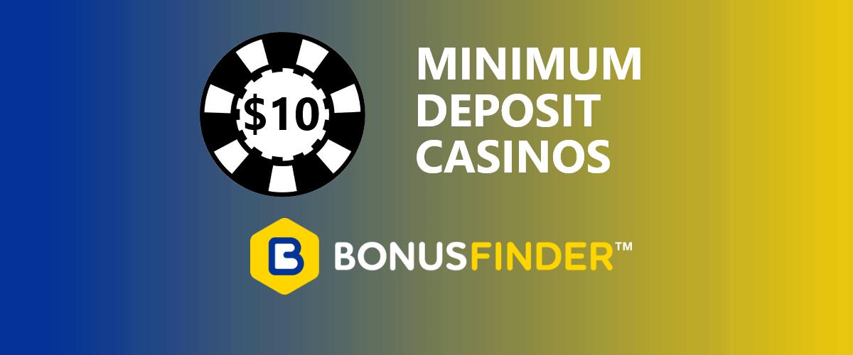 $10 minimum deposit casinos nz