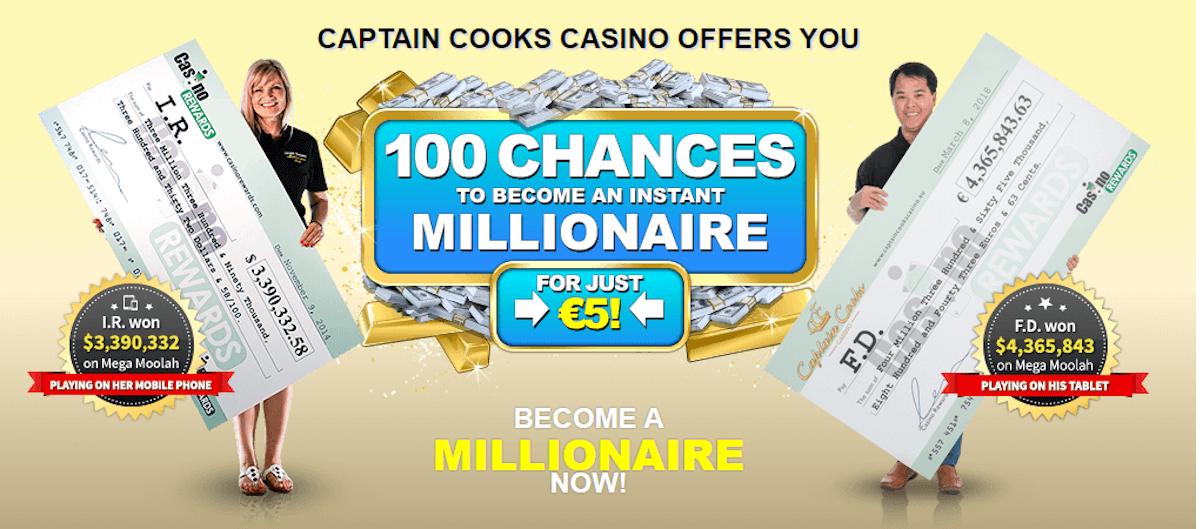 Captain Cooks Casino Bonus NZ