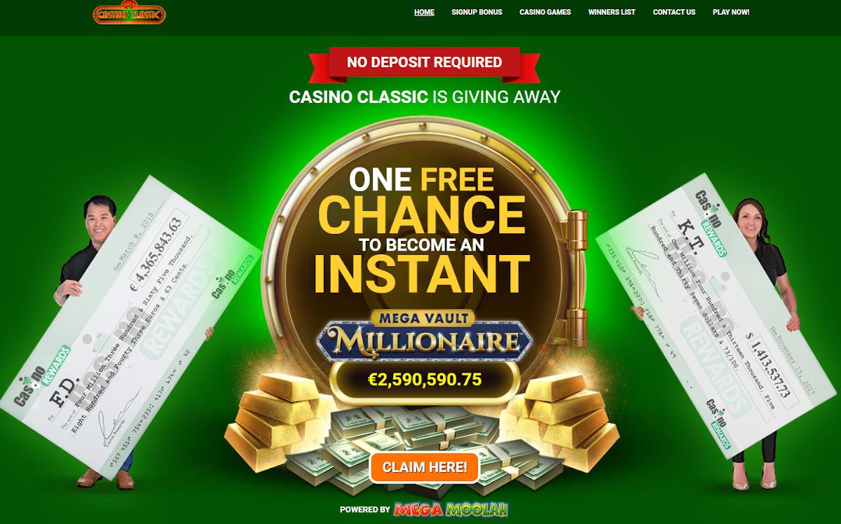 Casino Classic bonus