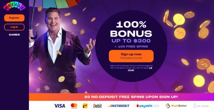 new free spins casino