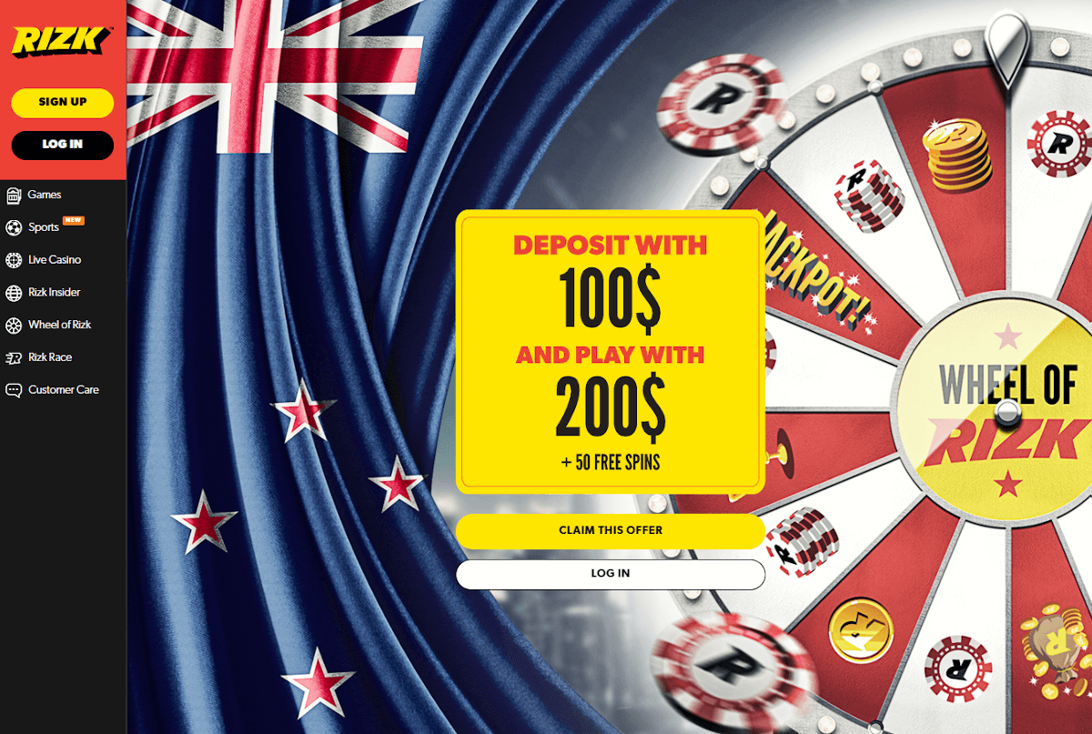 NZD Casino bonus