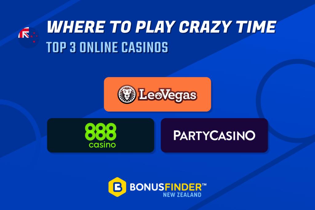 Crazy Time Casinos