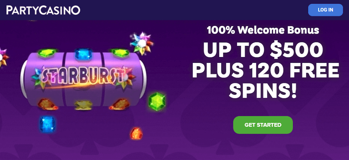 Party Casino Bonus Nz Receive 500 120 Free Spins 2020
