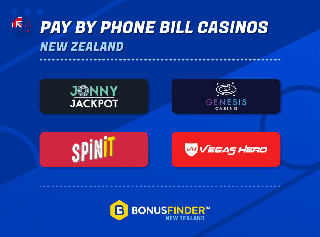 Pay By Phone Casinos NZ