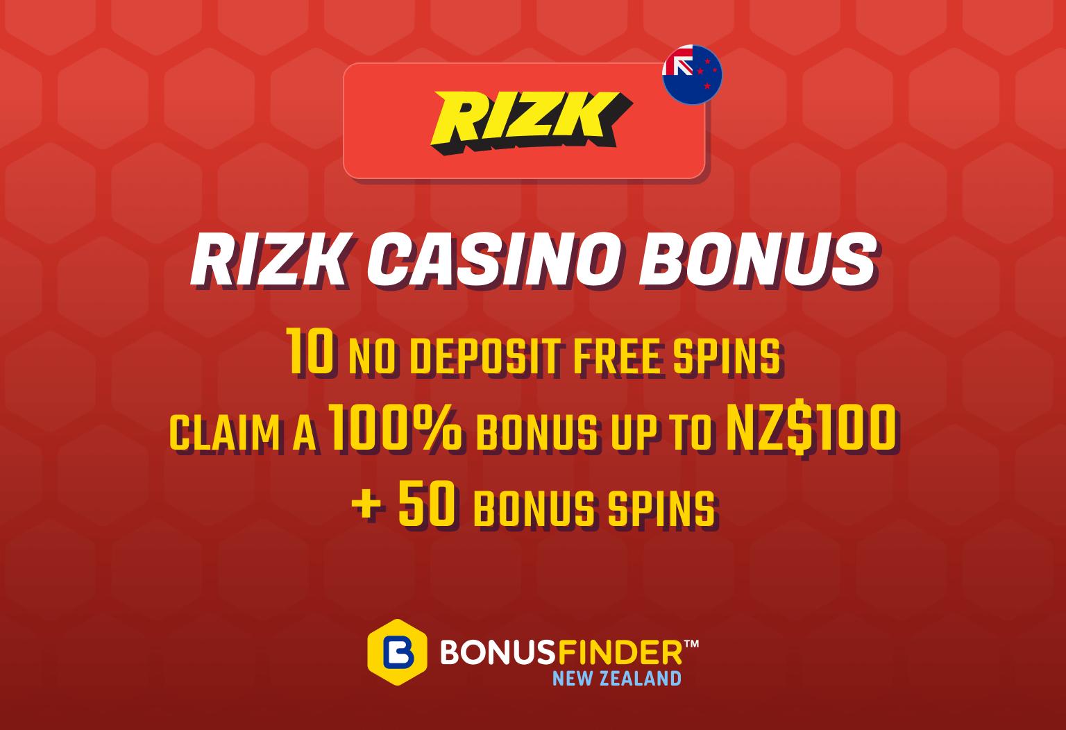 Rizk bonus
