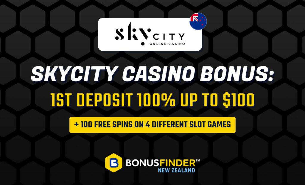 SkyCity Online Casino Bonus