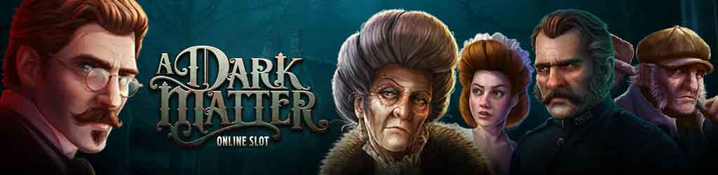 A dark matter themed slot promo on Zodiac Casino.