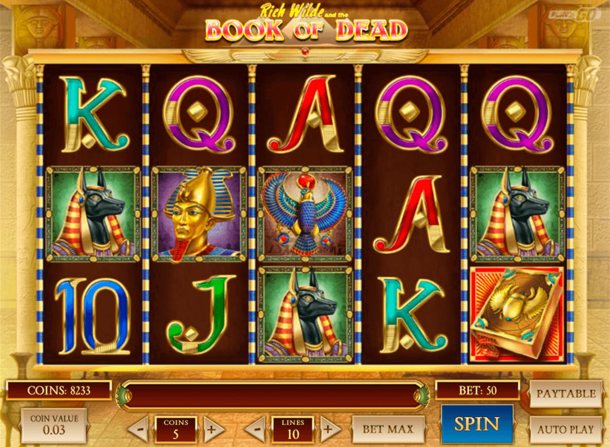 Book Of Dead Online Casino No Deposit Bonus