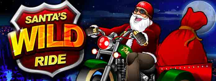 Double loyalty points playing Santa's Wild Ride this holiday seas at Cosmo Casino.