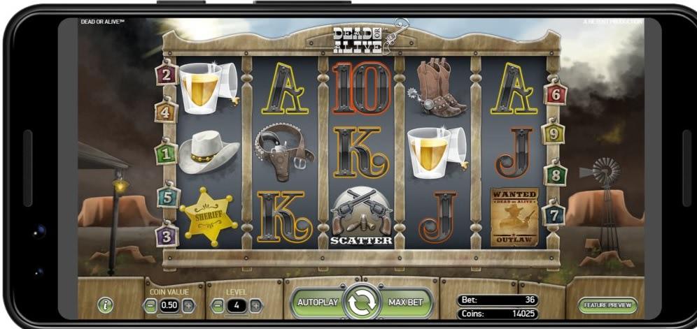Dead or Alive Mobile Casino