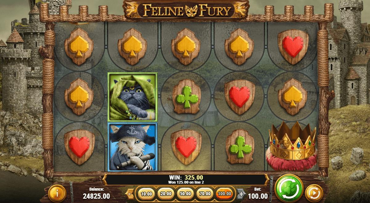 Feline Fury Free Spins