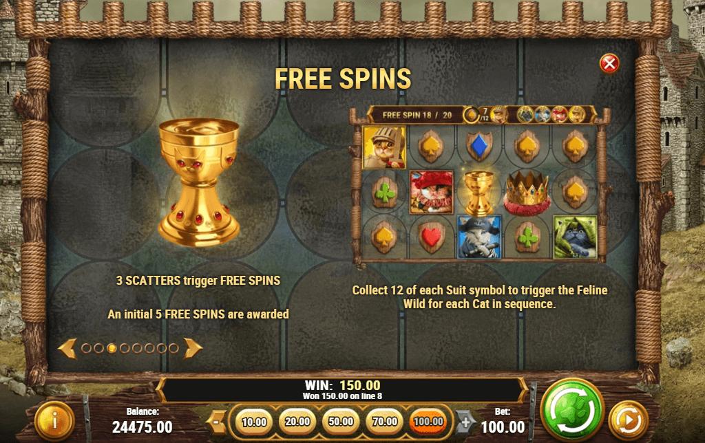 Bonus Free Spins Rounds