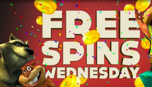 Love Pokies? Don't miss out on free spin Wednesdays at BitStarz!