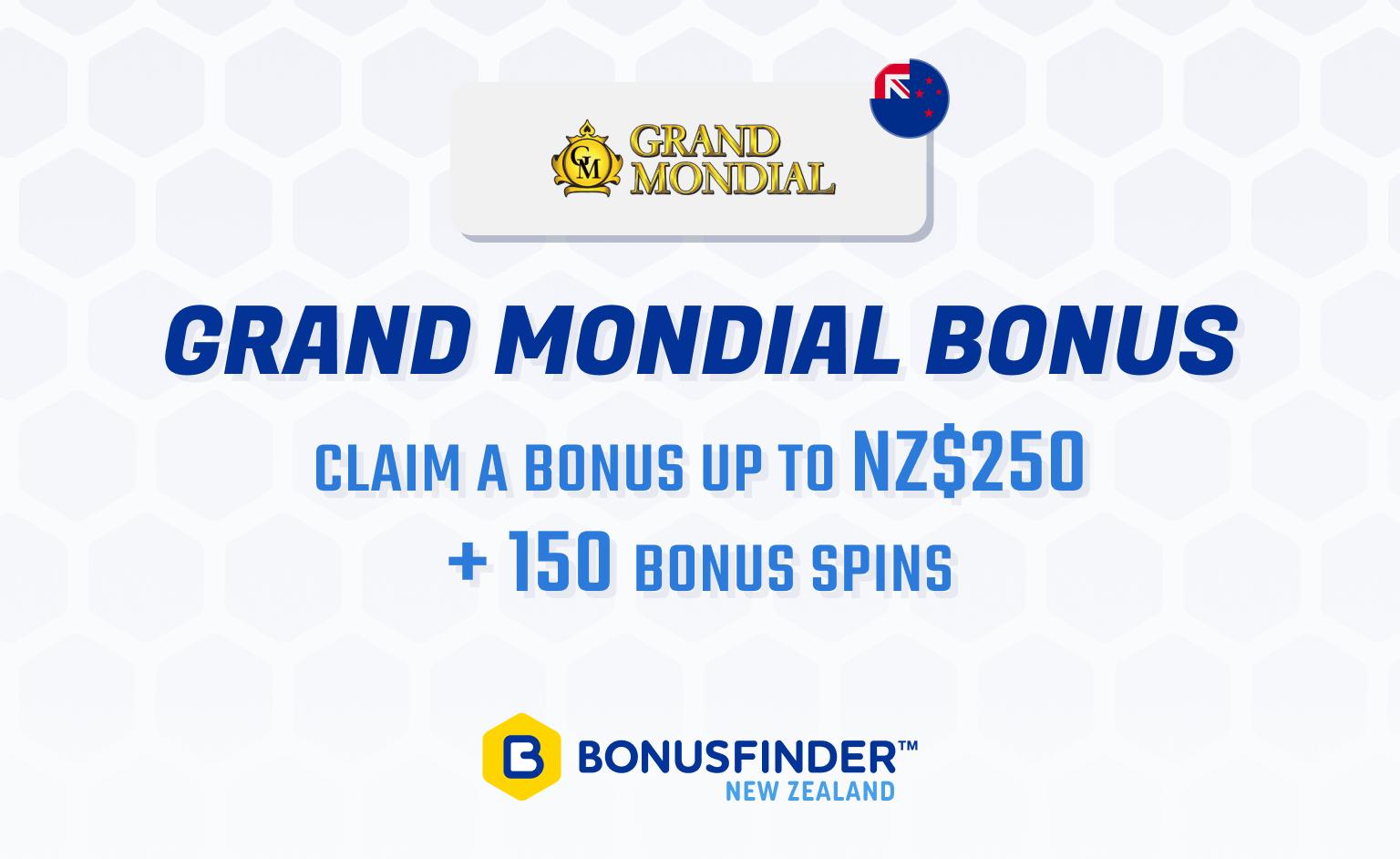 Grand Mondial bonus