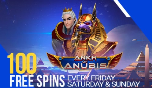 Participate in spin your weekend on king billy to get 100 free spins