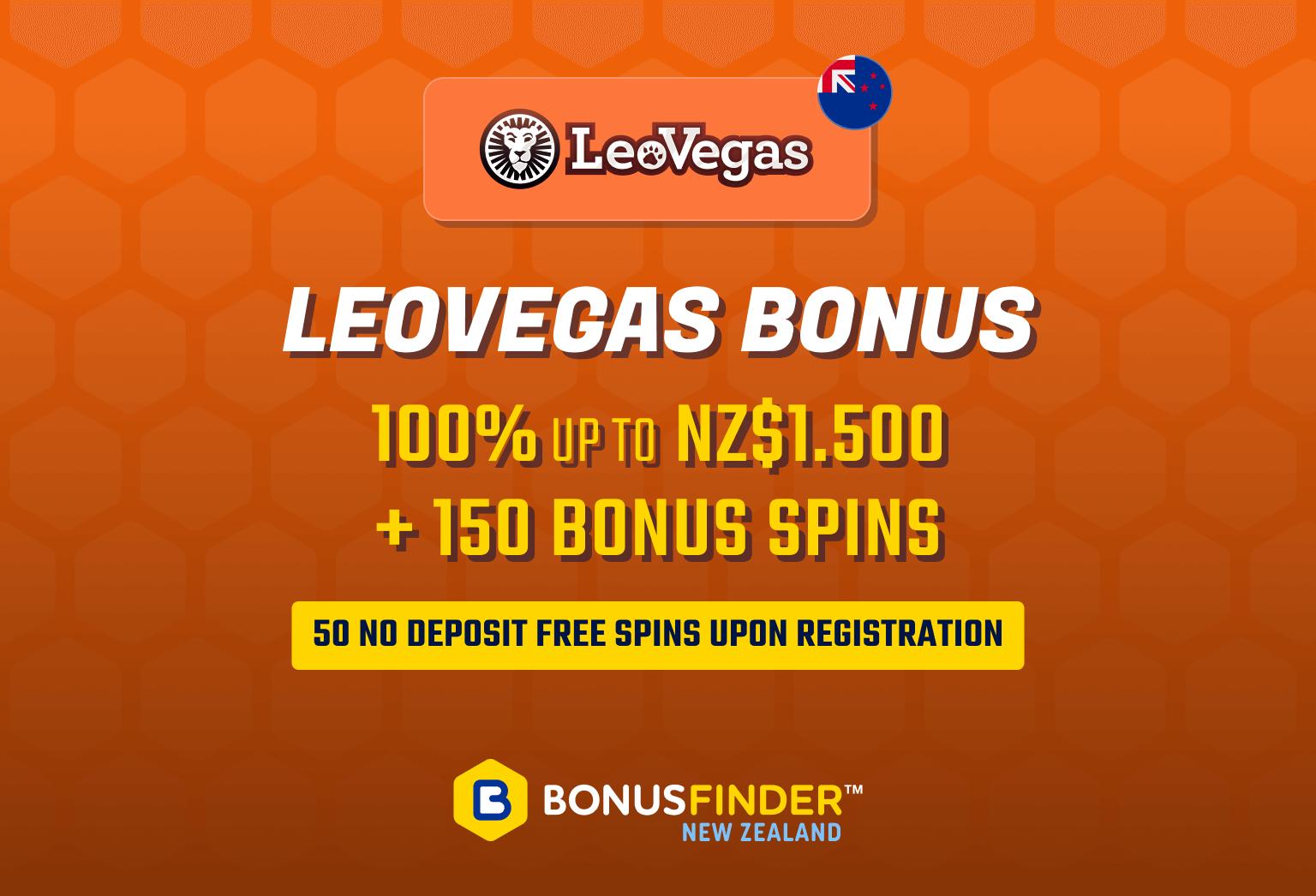 Leovegas bonus