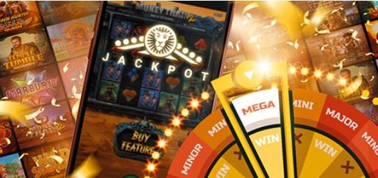 Win up to $8.5 million via the LeoVegas LeoJackpot