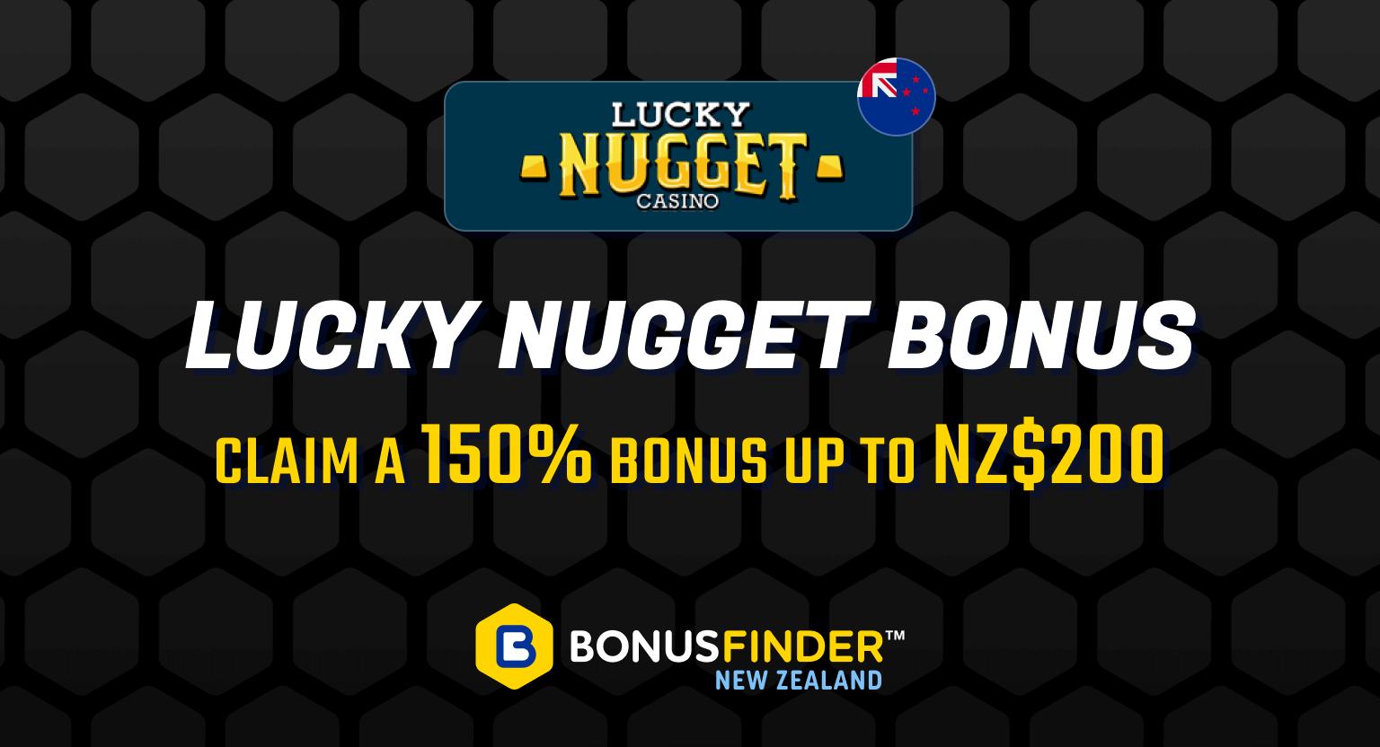 lucky nugget bonus