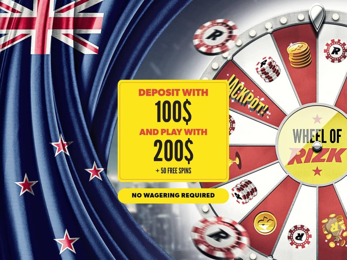 free spins no deposit no wager NZ