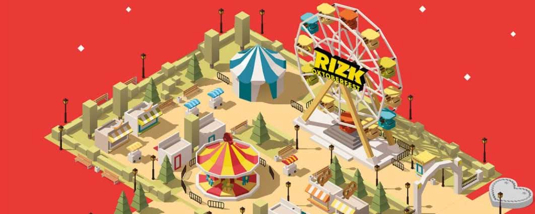 Fill your cup up at Rizktoberfest promotion by Rizk Casino!