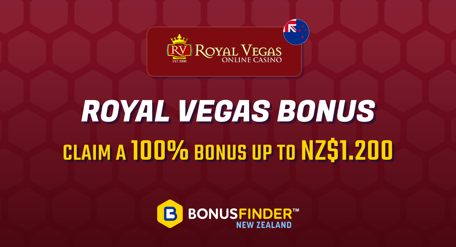 Royal Vegas bonus