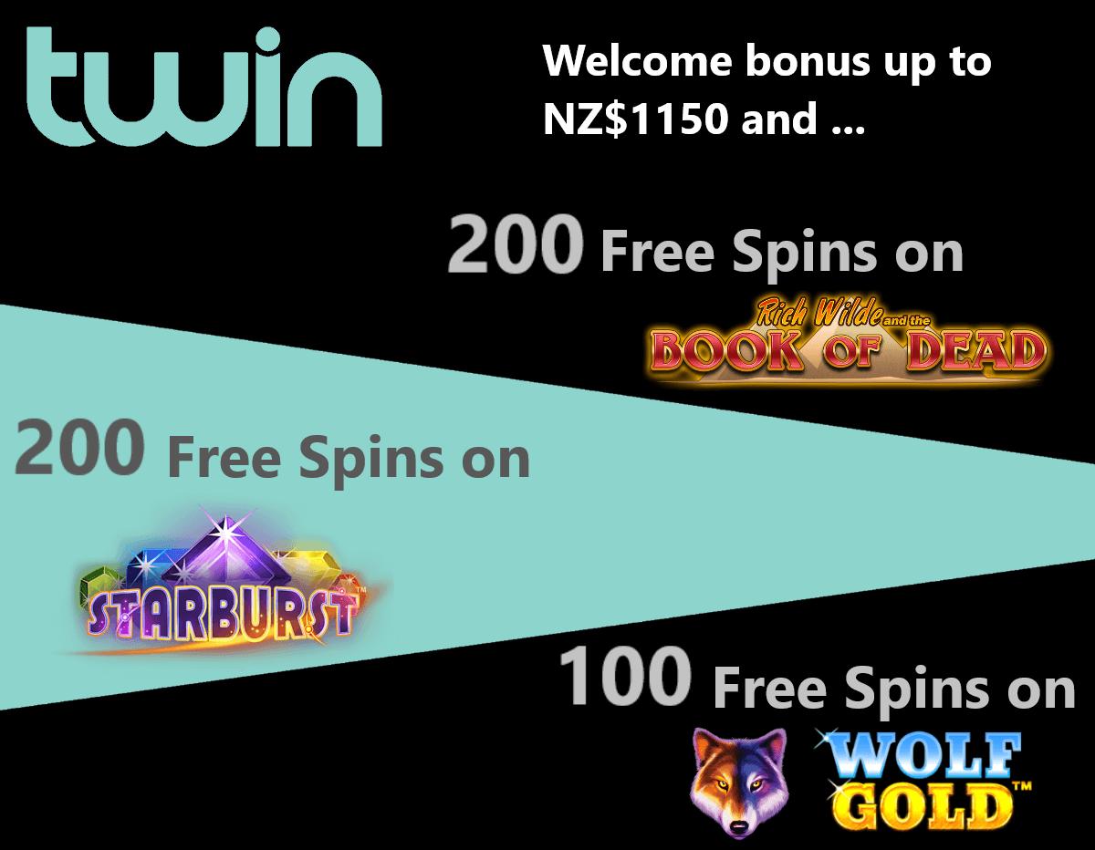 twin casino bonus nz